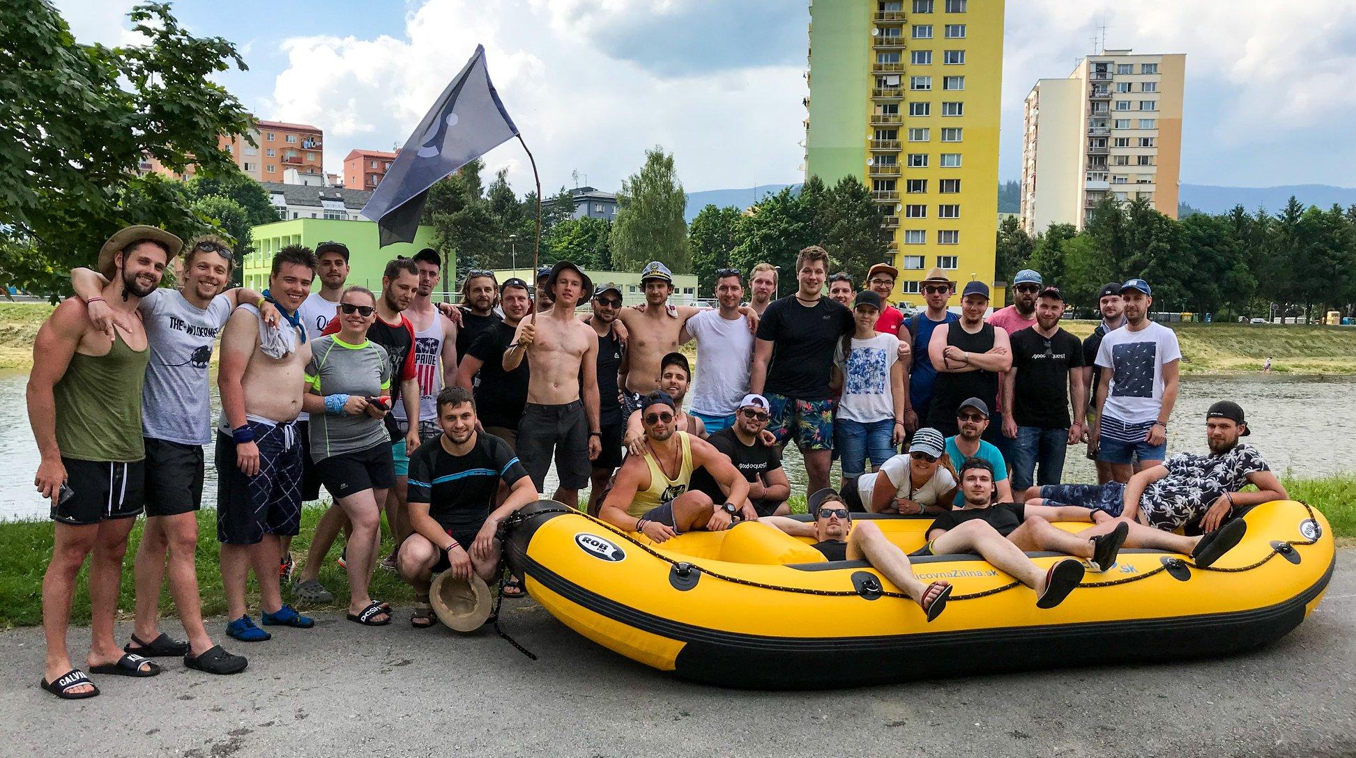 Legendárny teambuilding? Splav rieky Orava vol. 2!