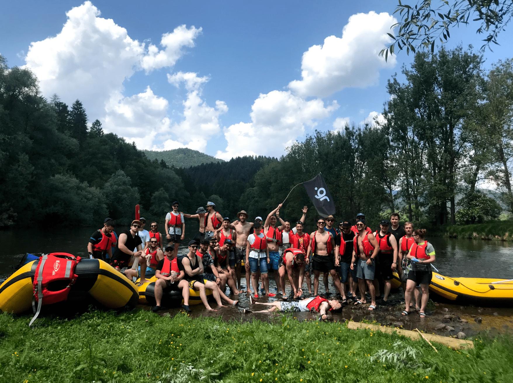 Teambuilding v GoodRequest: 2 dni a 1 legendárny splav rieky Orava