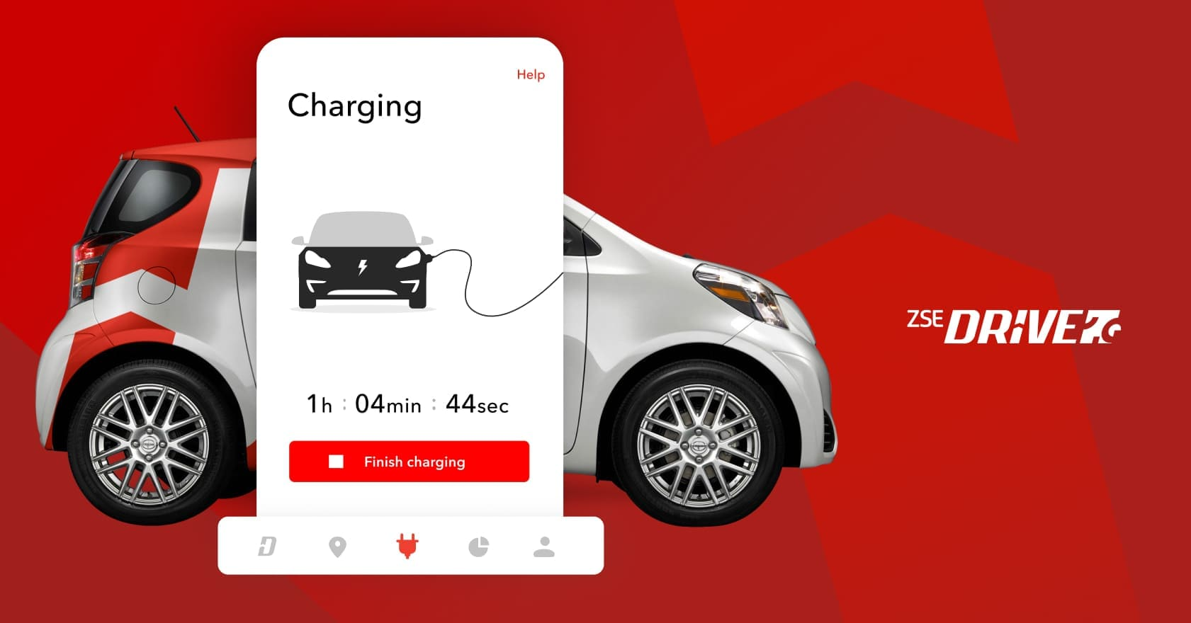 e-mobility platform for searching, booking and charging electric cars in Slovakia and Europe by ZSE
