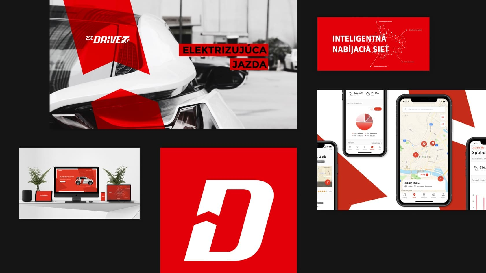 multiplatform app for e-mobility