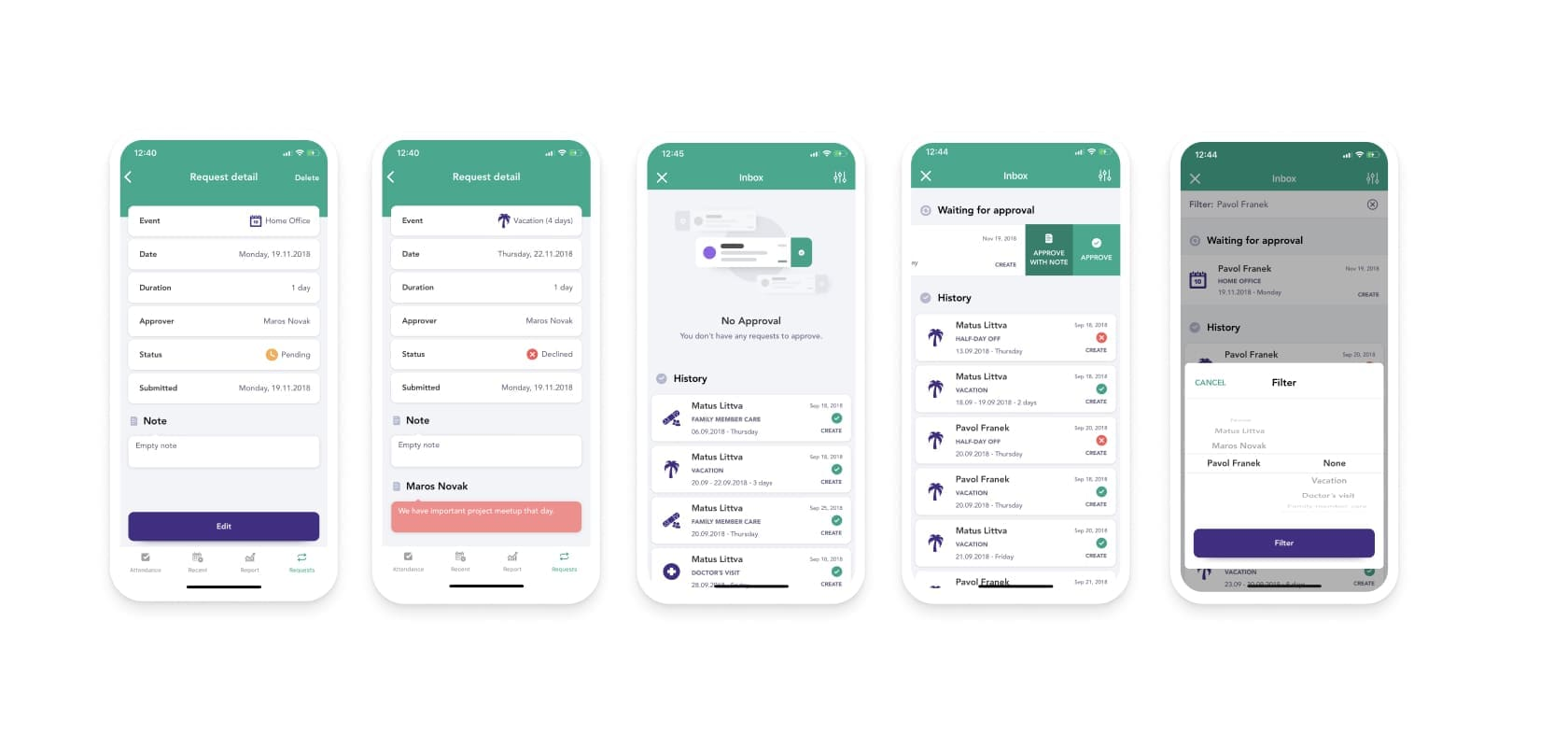 innovative mobile app with many features
