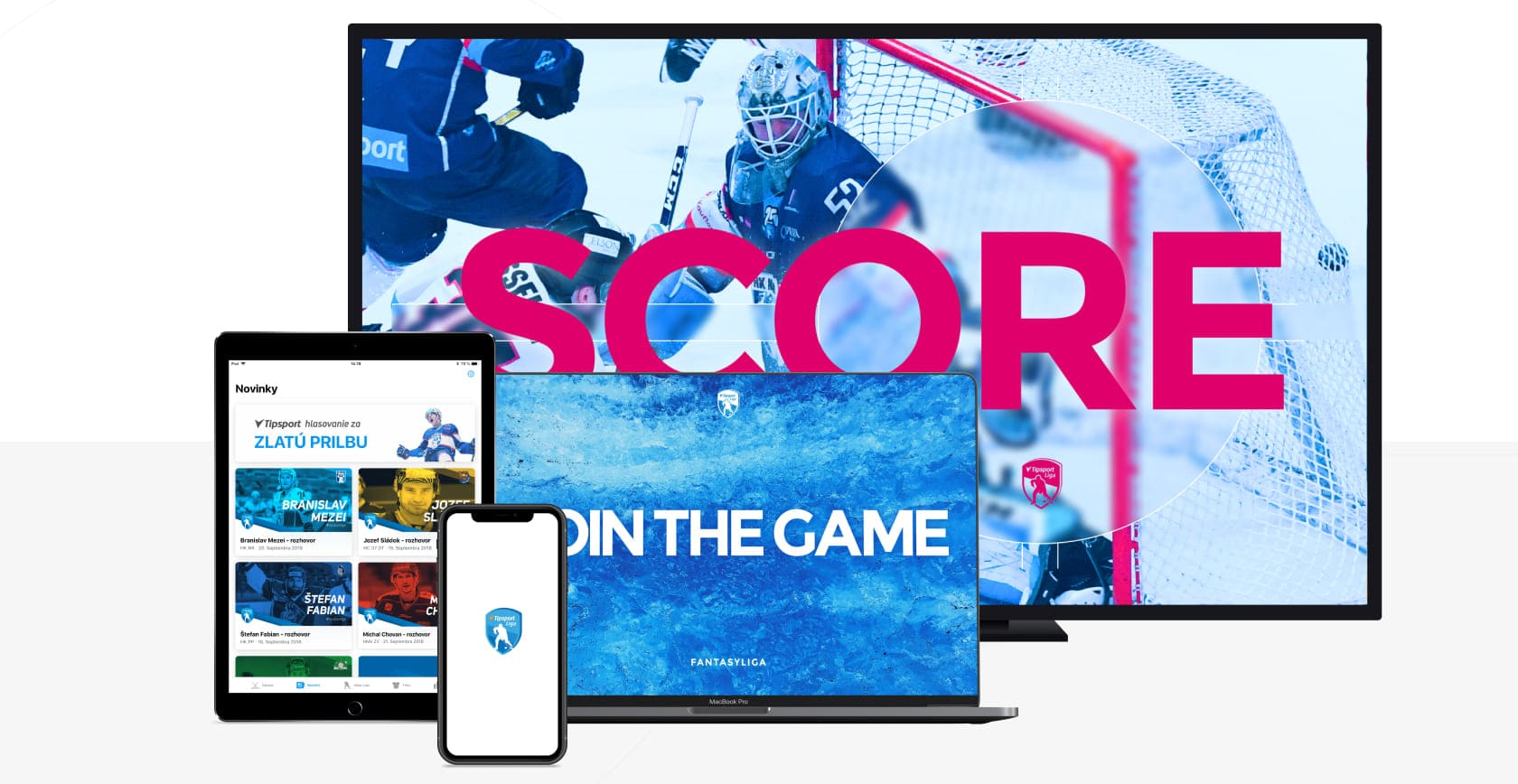 mobile application development for biggest hockey competition in Slovakia