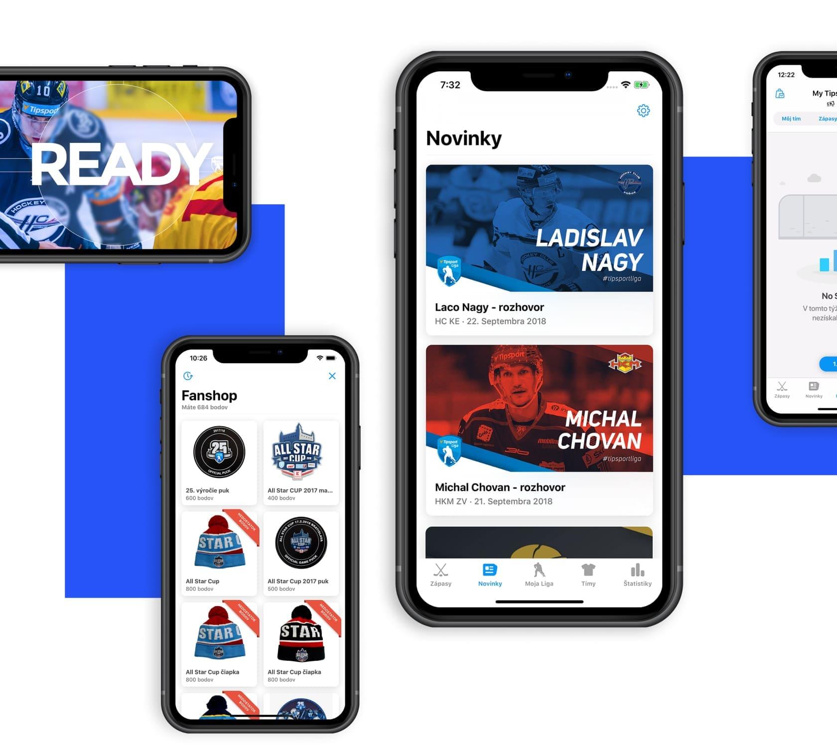 mobile app development with UX UI design