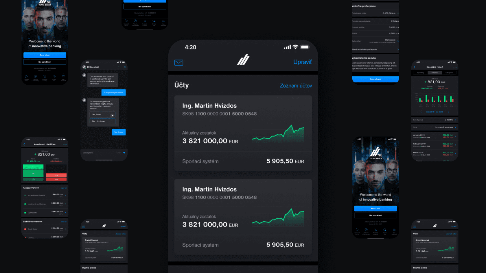 innovative mobile banking app