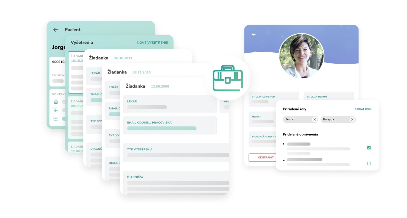 Online safe accessible information system creation
