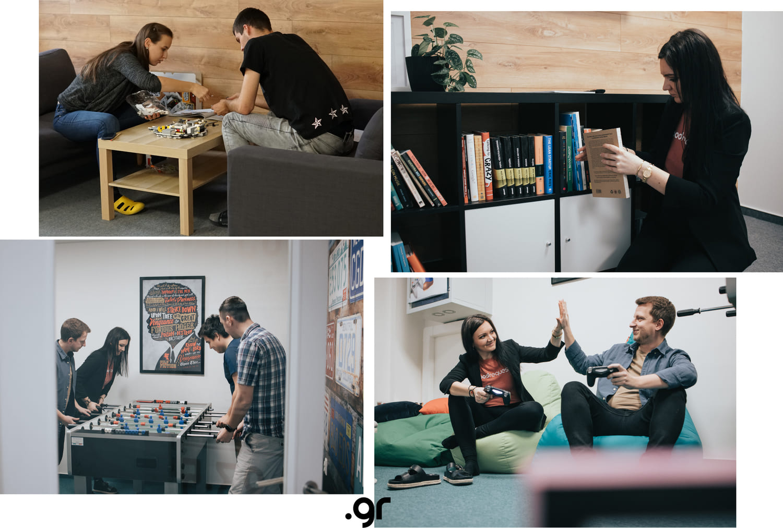zabava a vzdelavanie v office pre vyvoj webovych a mobilnych aplikacii otvorene pozicie