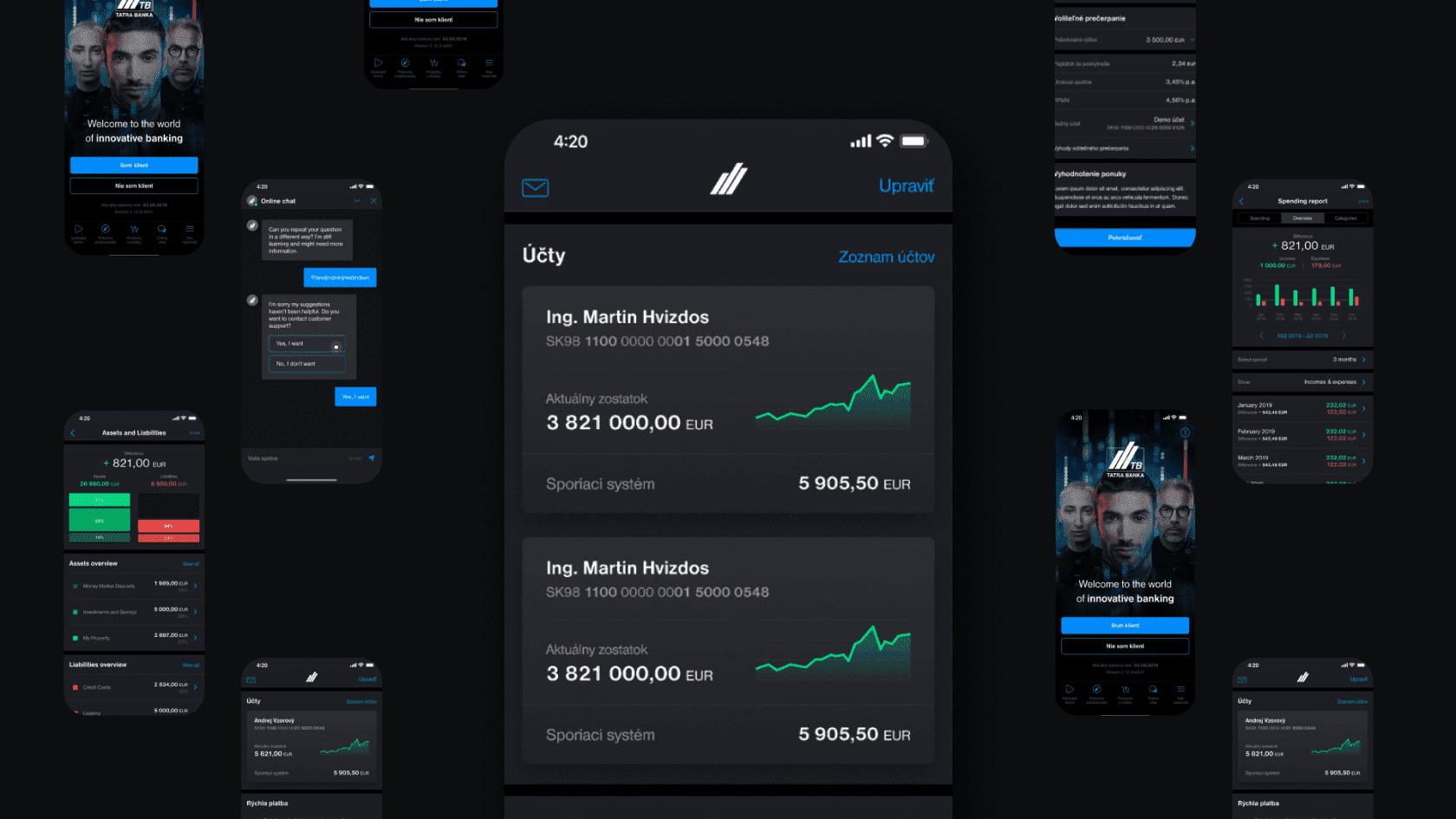 mobilna aplikacia roka v oblasti bankovnictva
