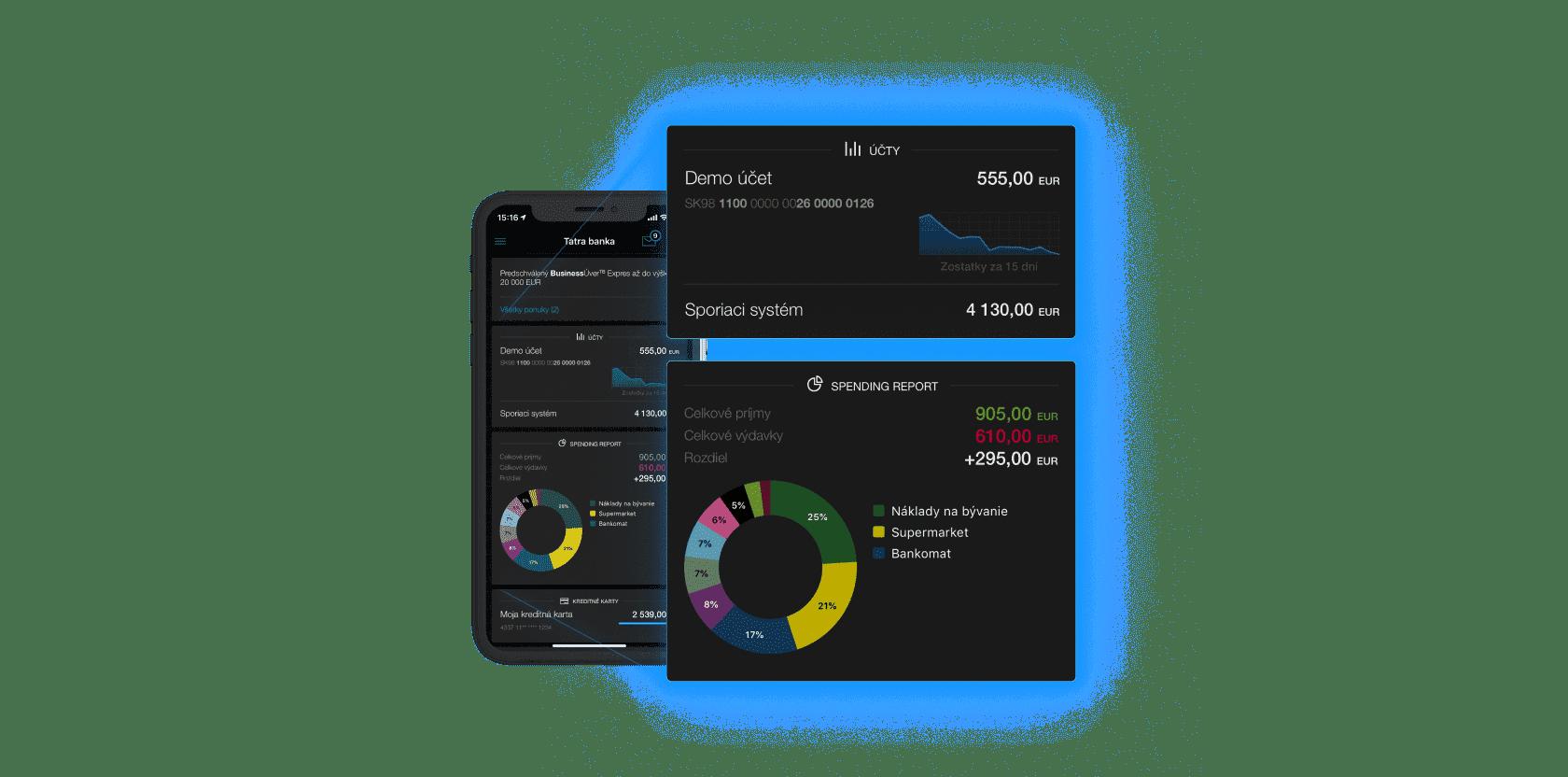 vyvoj mobilnej aplikacie na ios a android s personalizovanym prehladom uctu