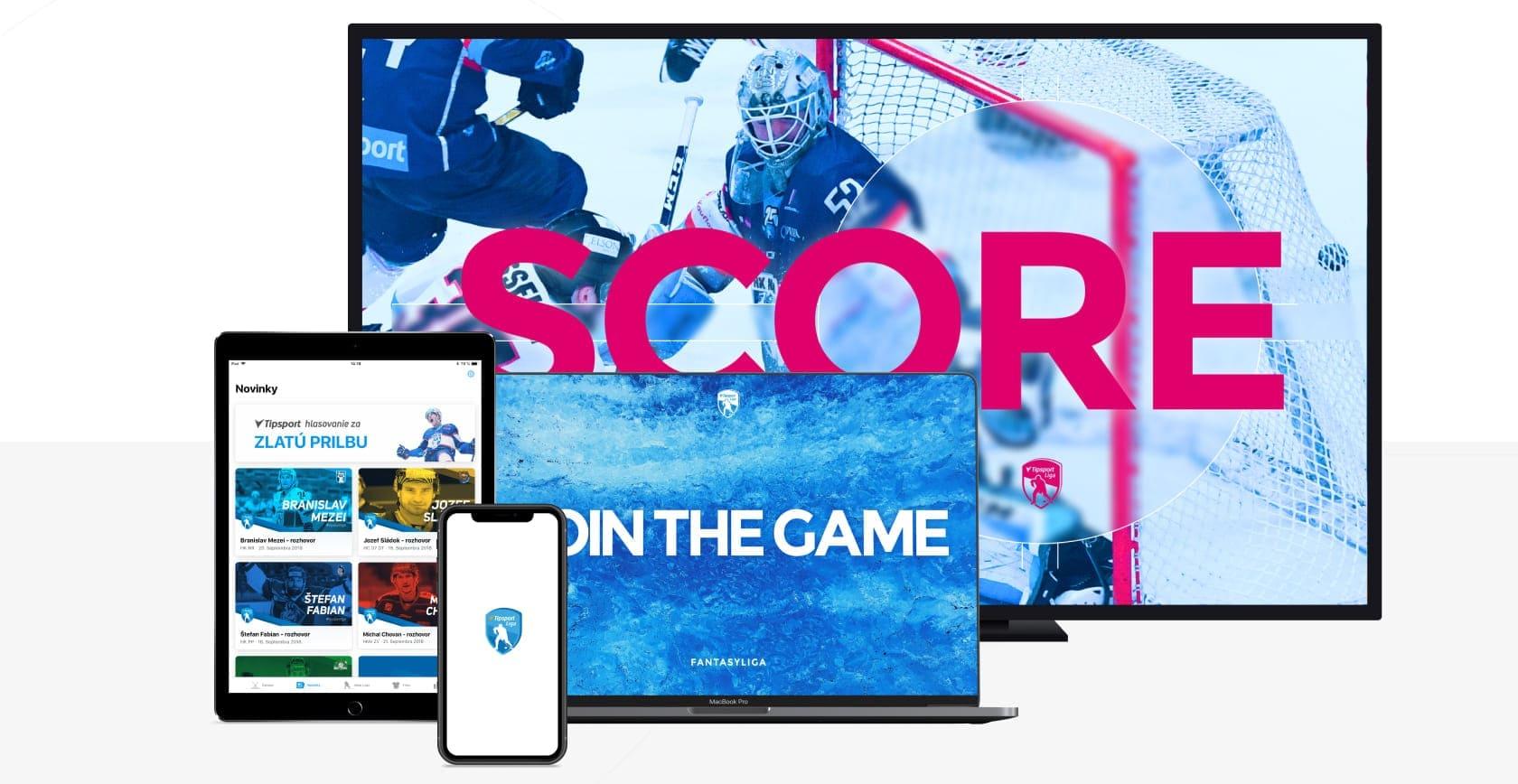 vyvoj webojvej a mobilnej aplikacie pre najvacsiu slovensku ligu