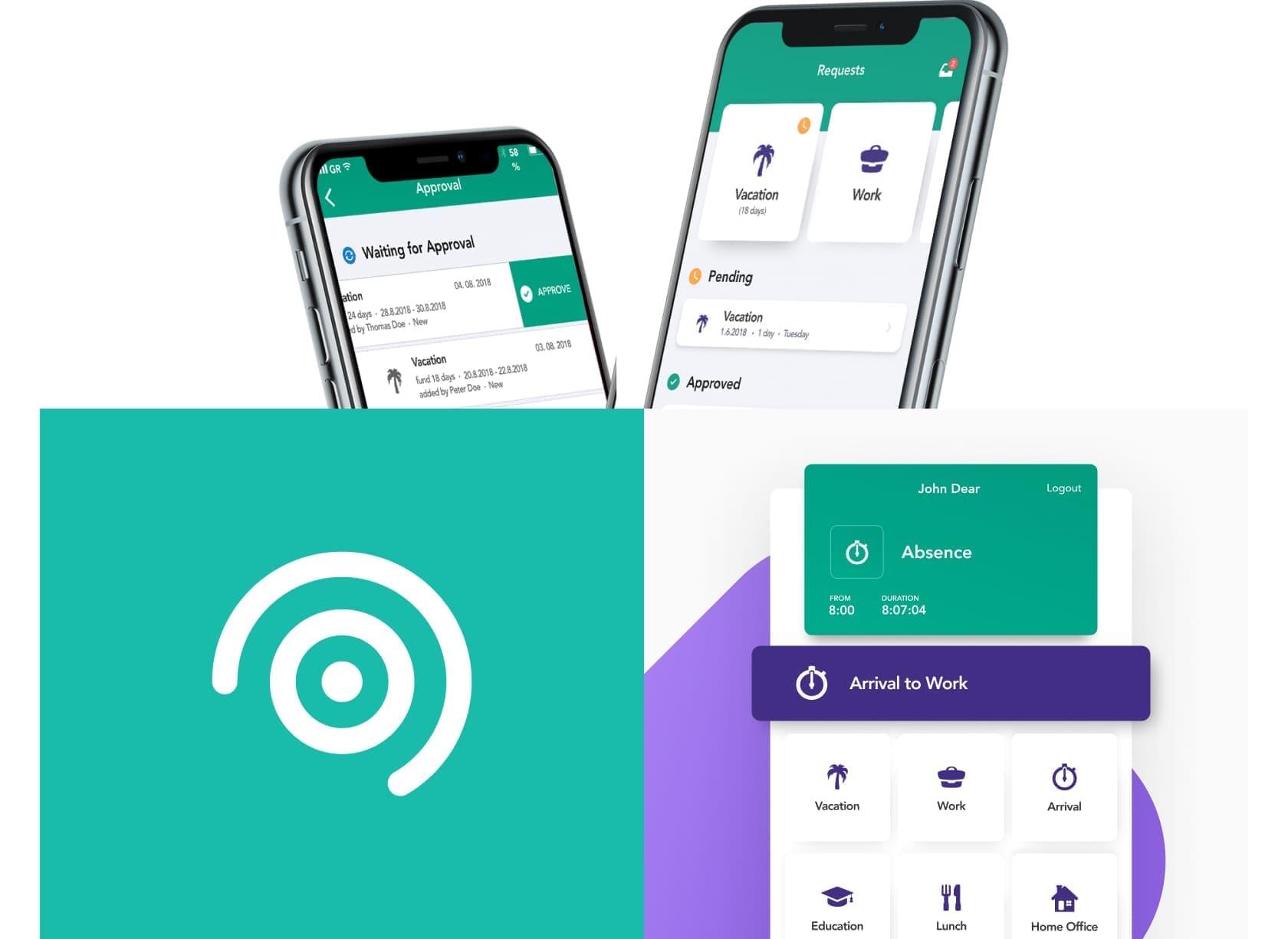pokrocily dochadzkovy system s mobilnou aplikaciou