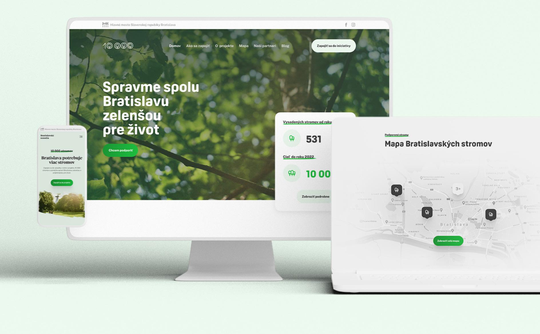 #grpartners: EKO iniciatíva hlavného mesta 10 000 stromov