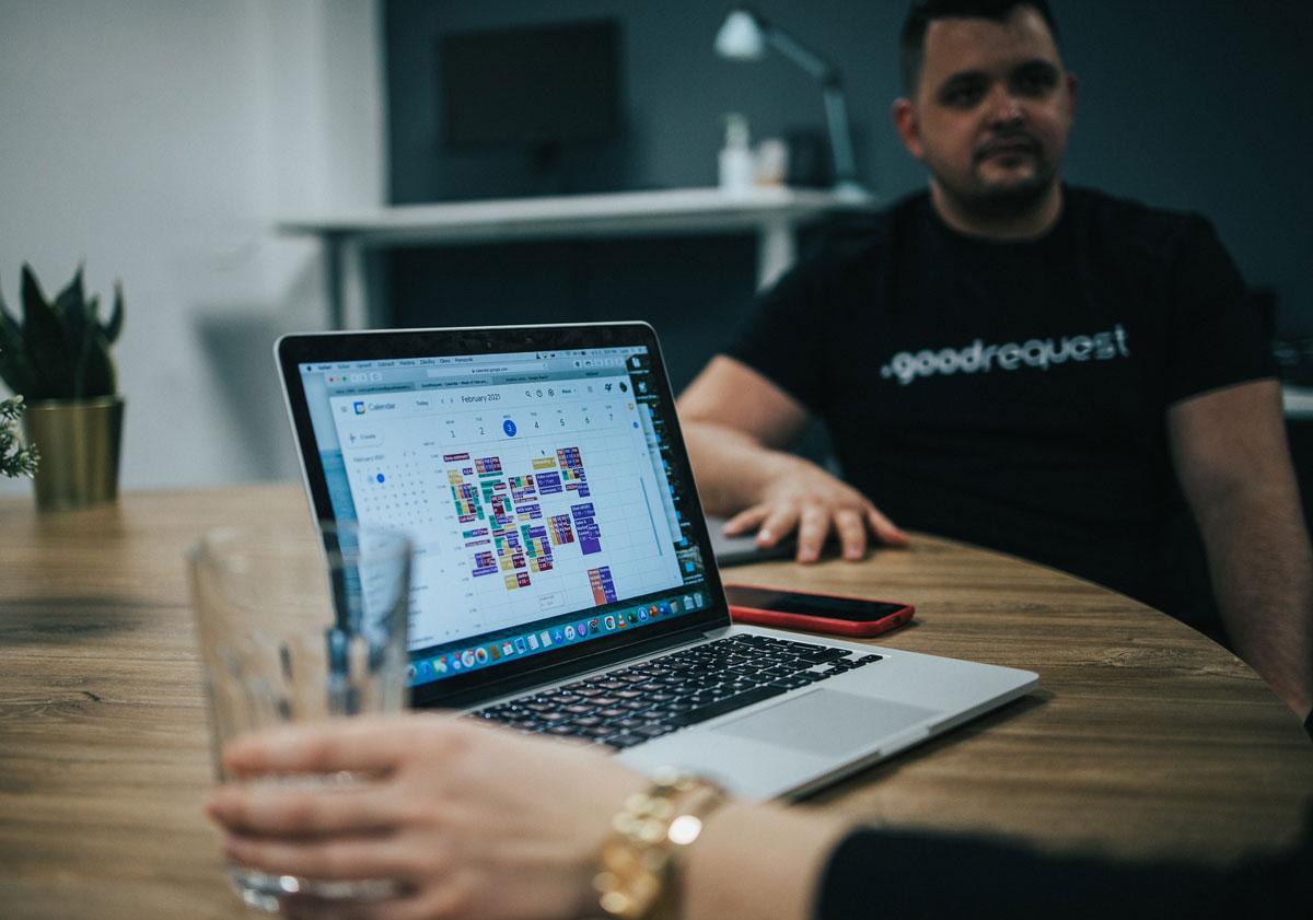 Design brief with goodrequest UX UI designers