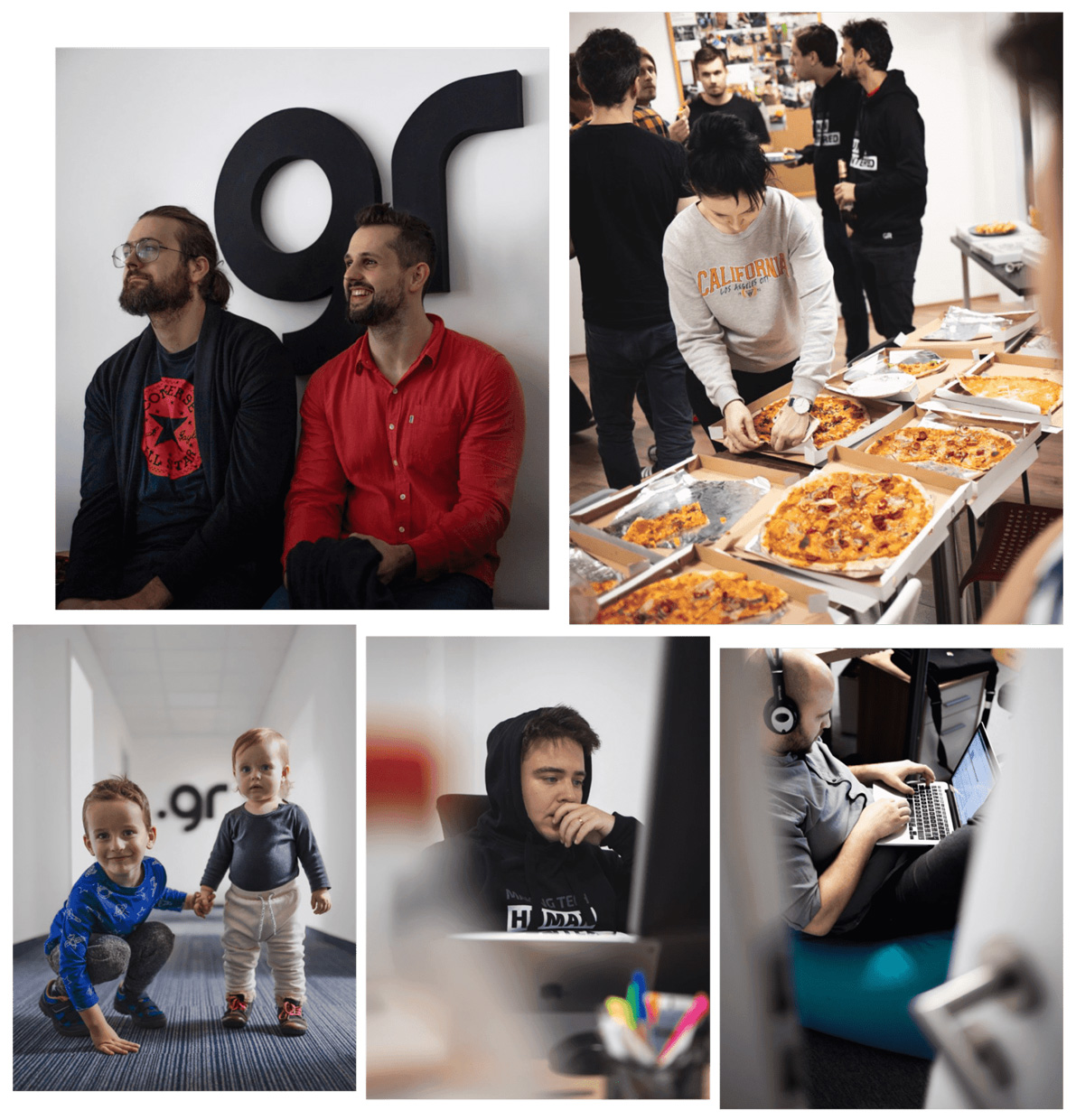 hackathon atmosphere captured by our lens