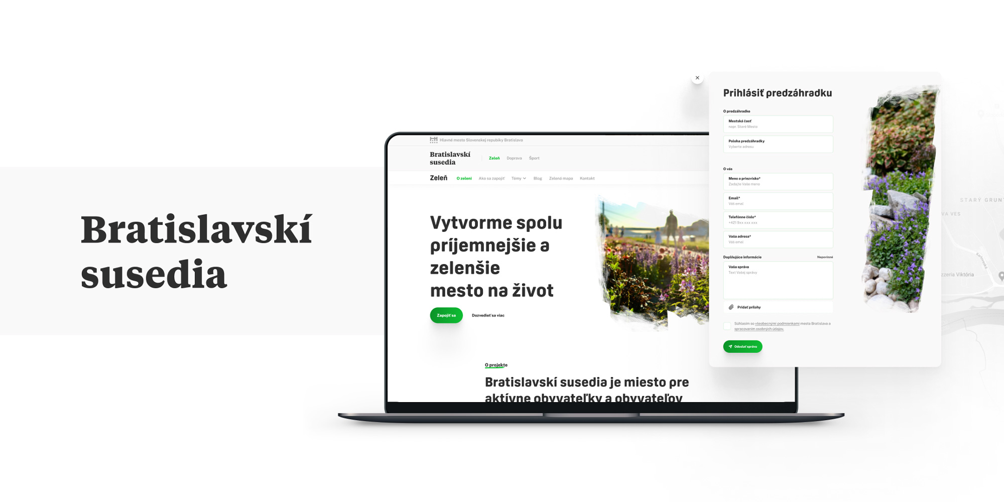 #grpartners: A website for a more enjoyable and greener life in the capital