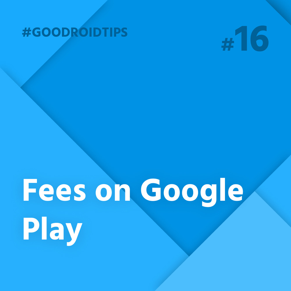 new fees politics in google play store