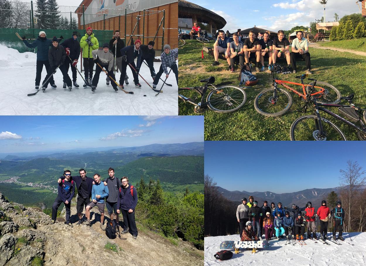 Sportové aktivity a výlety do prírody v rámci GoodRequest
