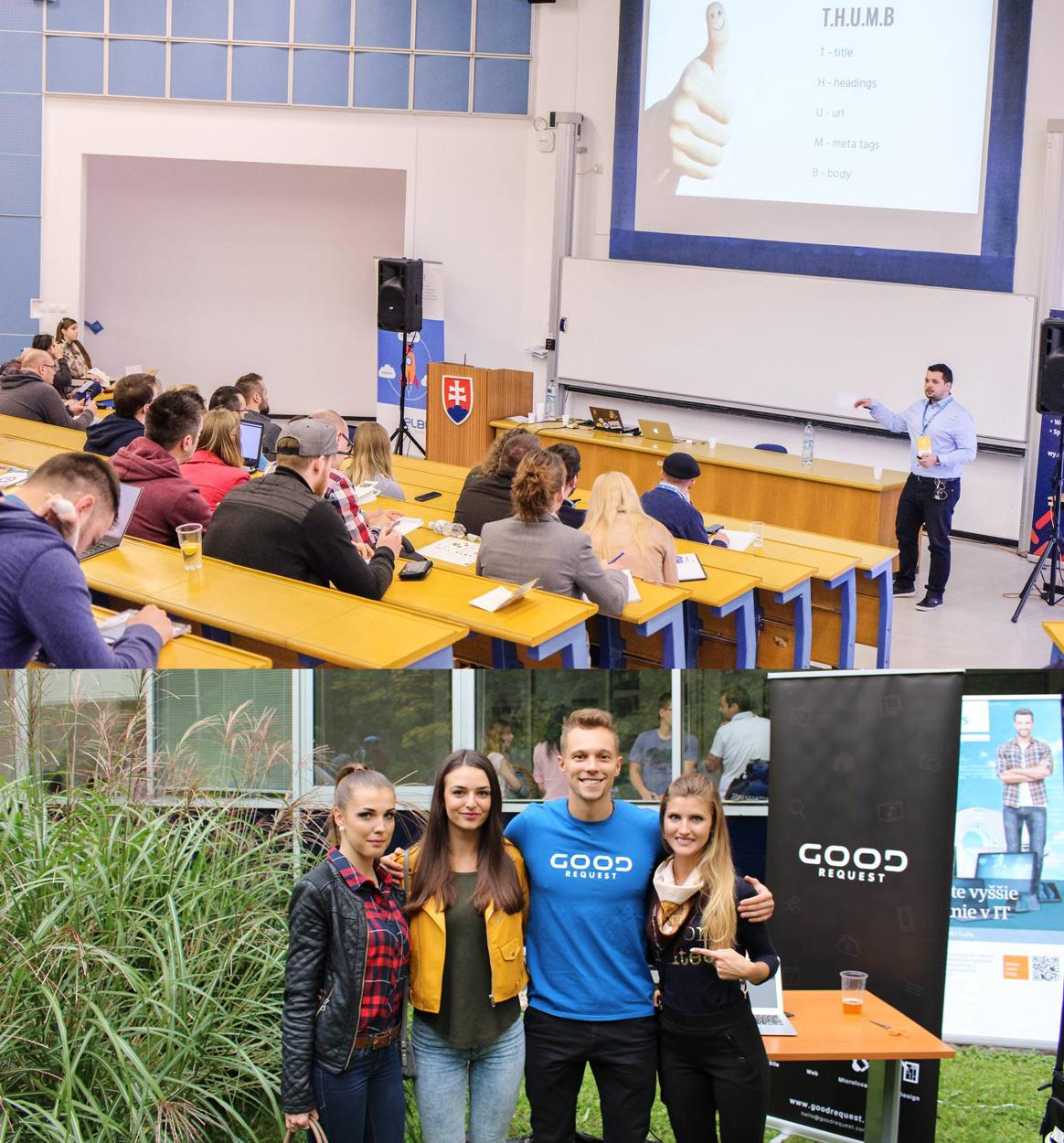 GoodRequest tím súčasťou vzdelávacích aktivít