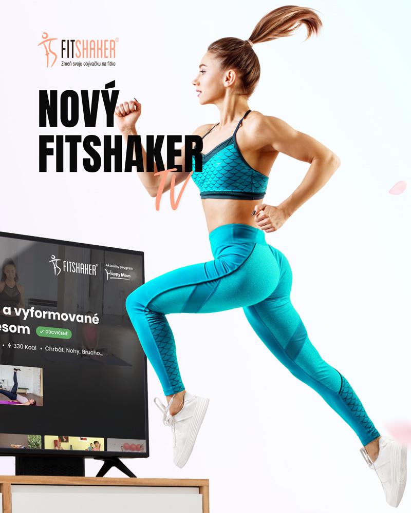 #grpartners: Fitshaker prichádza po novom webe s Android TV aplikáciou