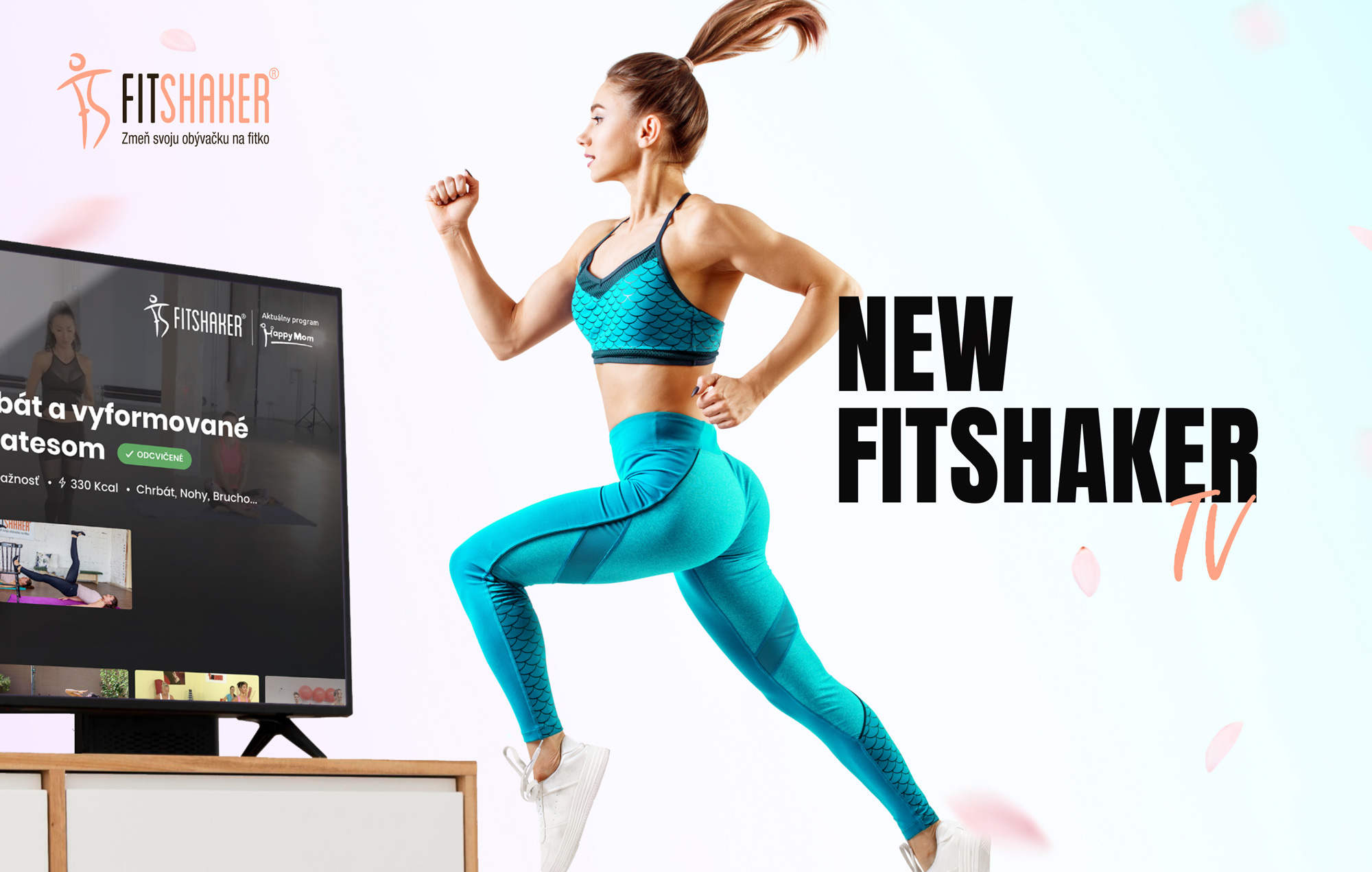 #grpartners: After new web site Fitshaker is introducing a new Android TV app!
