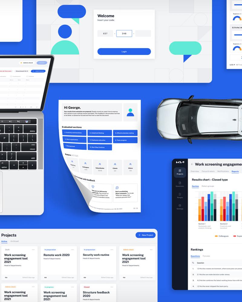 #grpartners: KIA 360 - podnikový informačný systém pre spätnú väzbu