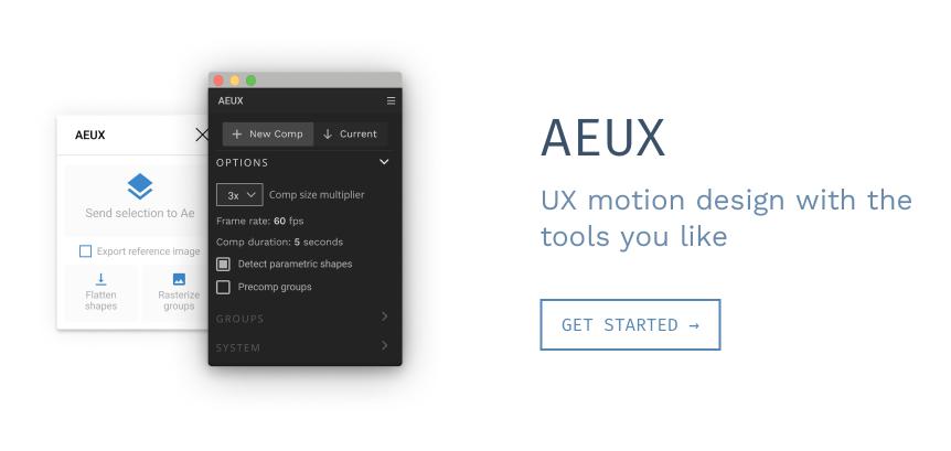 AEUX figma plugin pre pokročilejšie animácie