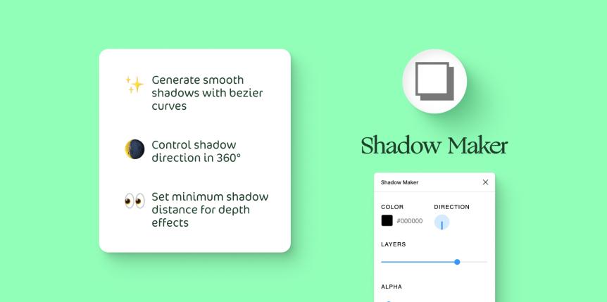Vytvoriť rofesionálne tiene je vďaka Shadow maker pluginy omnoho jednoduchšie