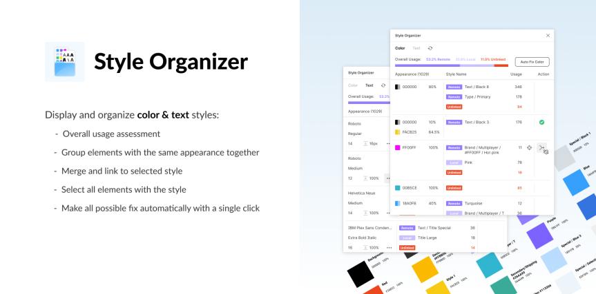 Pri dokončovaní projektu ti plugin Style Organizer dokáže ušetriť množstvo času
