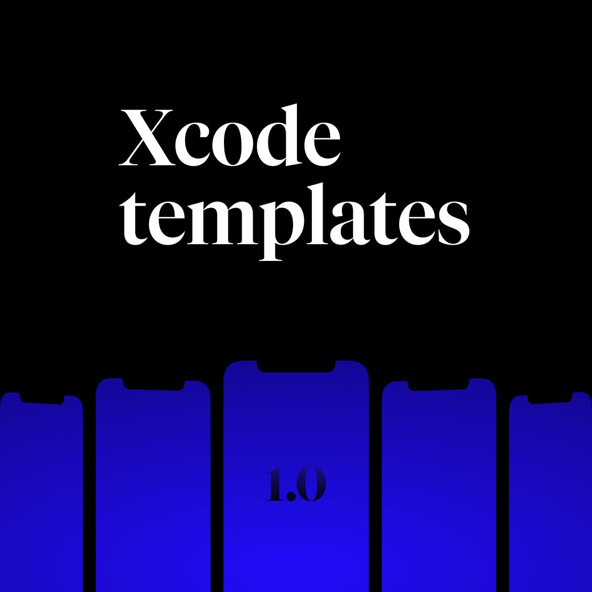 Xcode project templates - sprievodca spustením a návod kde ich nájsť