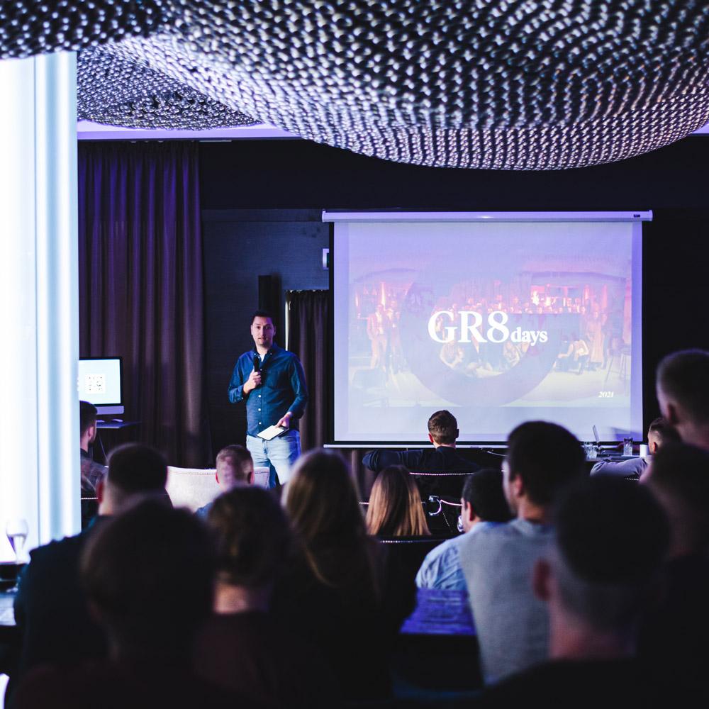 GR8 Days 2021: 3 dni, 80 ľudí,∞ zážitkov