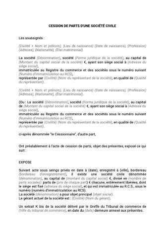 Contrat de cession d'une base de données-site internet-nom de domaine