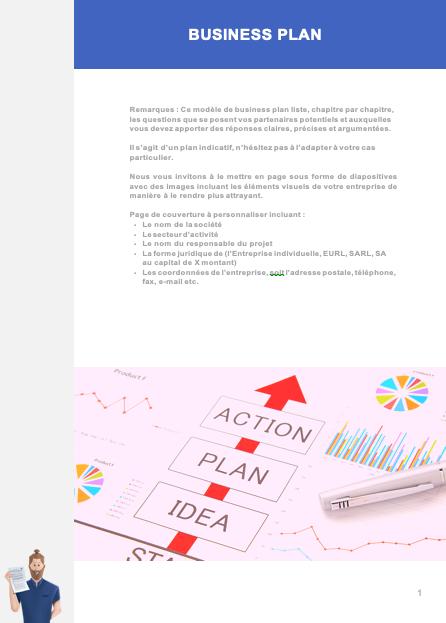 Modèle business plan