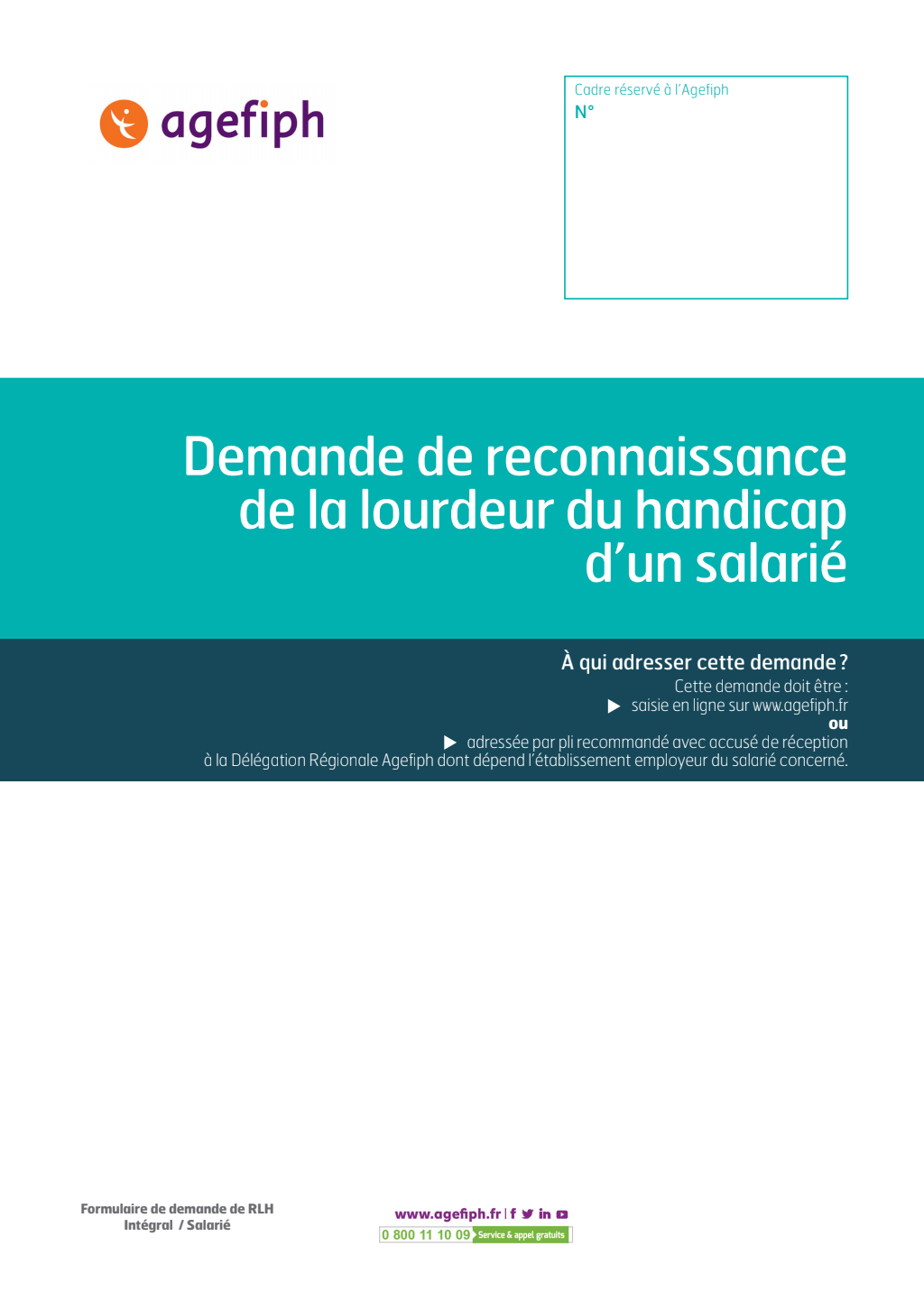 Formulaire_Demande de reconnaissance de la lourdeur du handicap d'un salarié