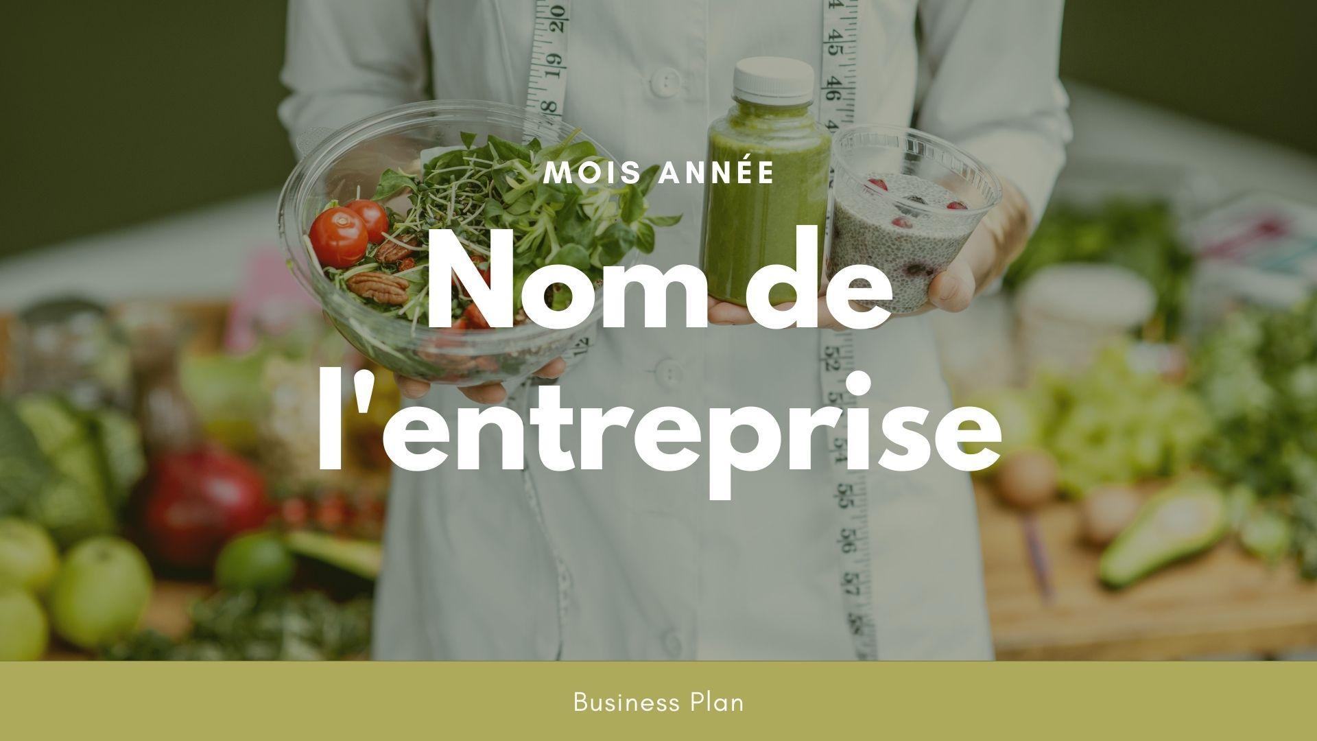 Modèle de business plan - Franchise