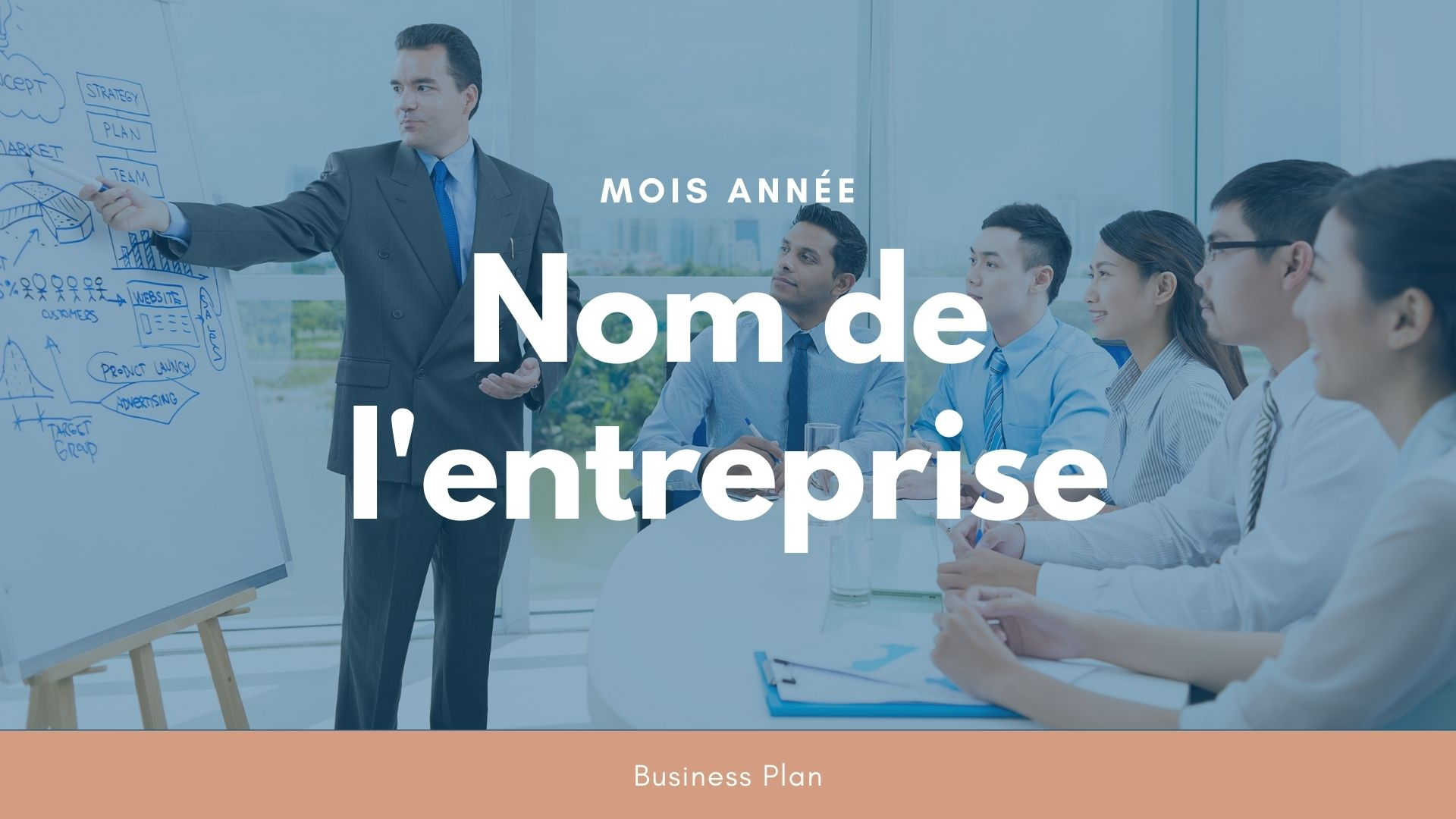 Modèle de business plan - Centre de formation