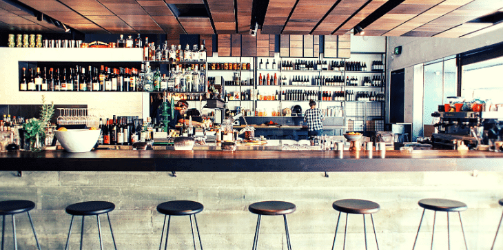 Licence bar