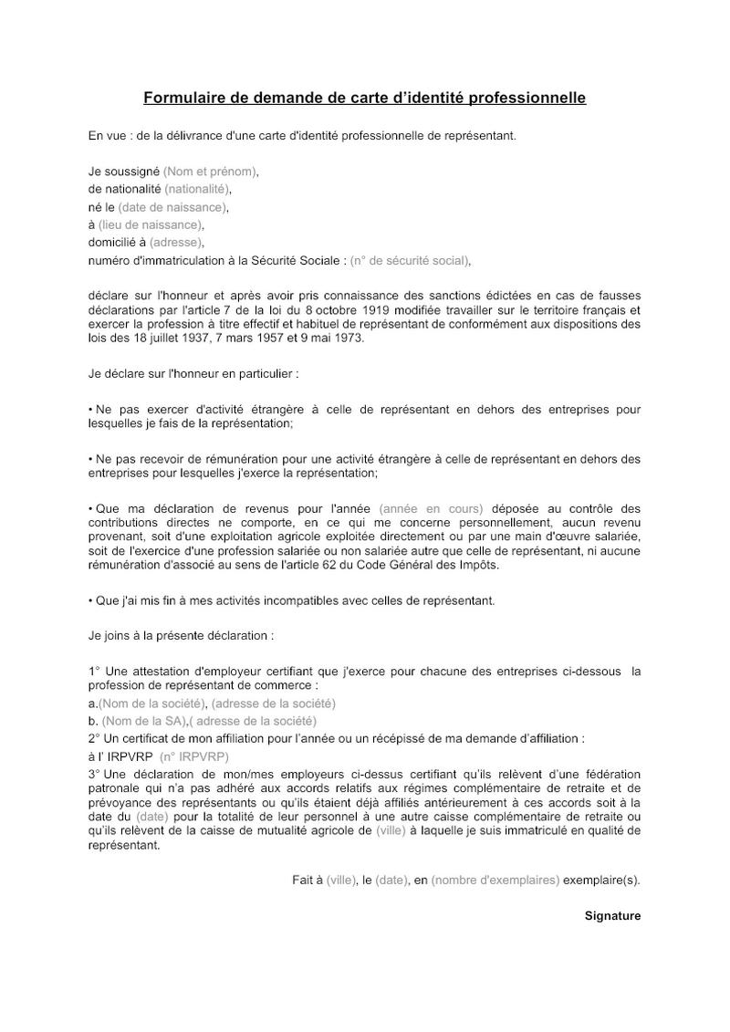 Lettre de convocation des administrateurs GIE