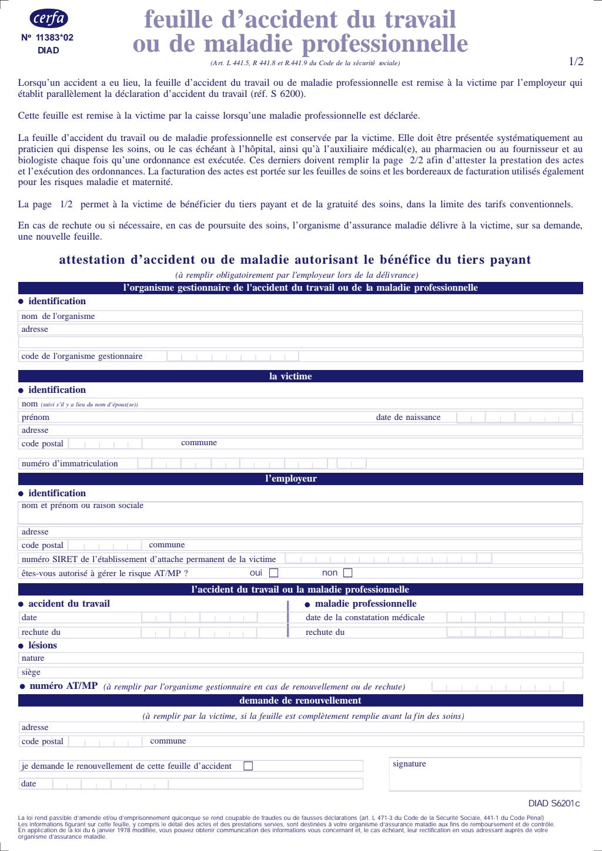 Formulaire_11469*03 : Déclaration d'embauche d'un emploi familial