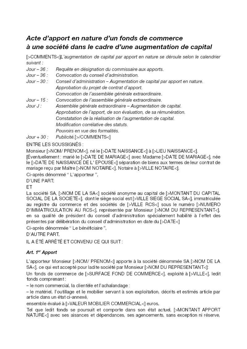 Annonce légale (nomination gérant et/ou Commissaire) SARL
