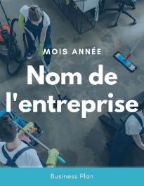 Modèle de business plan - Entreprise de nettoyage