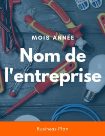 Modèle de business plan - Electricien