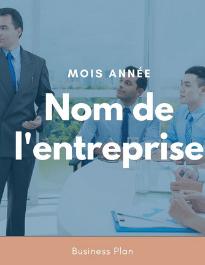 Modèle de business plan - Centre de formation
