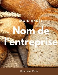Modèle de business plan - Boulangerie