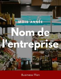 Modèle de business plan - Alimentation générale de nuit