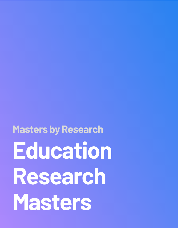 Education Research Masters