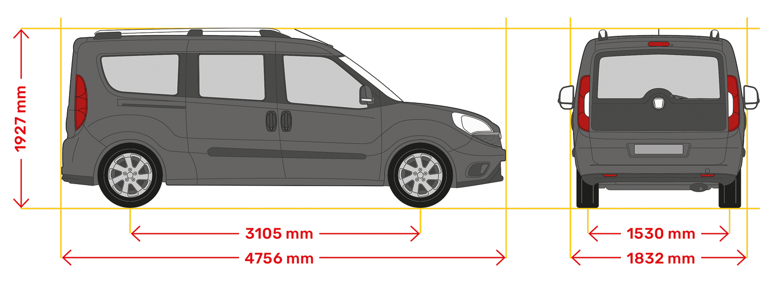 Doblo Fahrzeugmasse