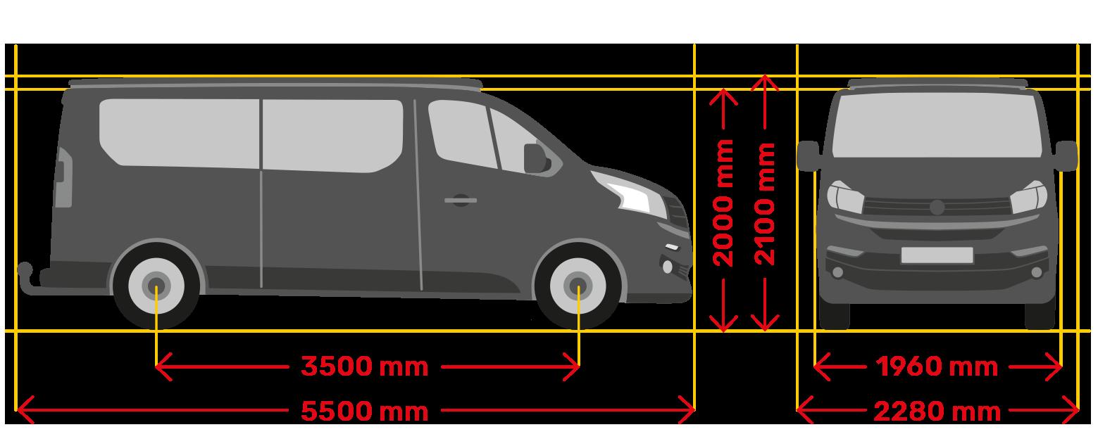 Deluxe Fahrzeugmasse