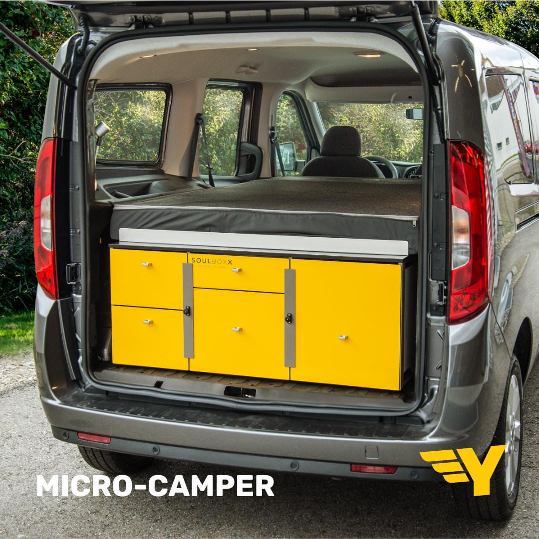 Yellowcamper Fiat Doblo