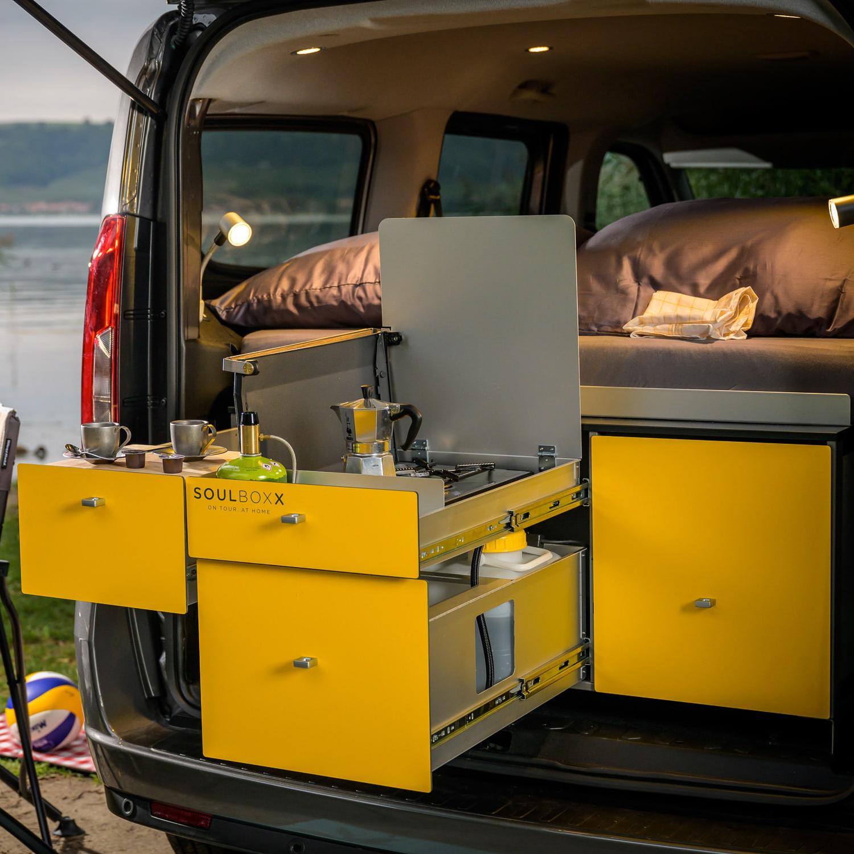 Yellowcamper Design Mini Camper
