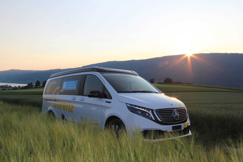EQV Camper: Der erste Elektrocamper der Schweiz