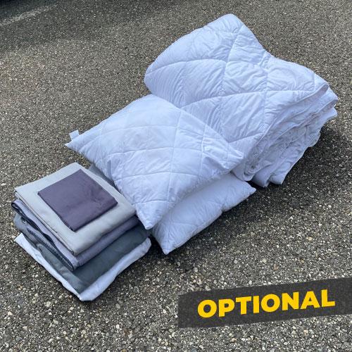 Bettwäsche optional